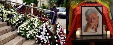 Părinții Andrei i-au adus un omagiu lui Ion Dichiseanu.