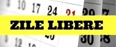 Se anunță noi zile libere pentru români.
