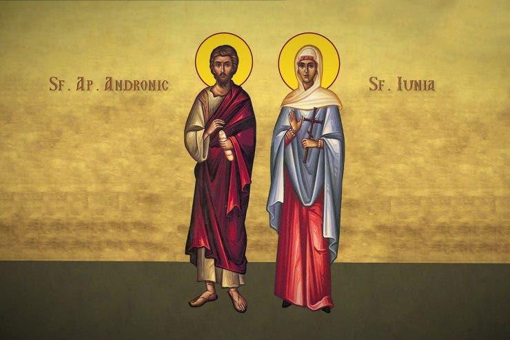 Sfantul Apostol Andronic și sotia sa, Iunia