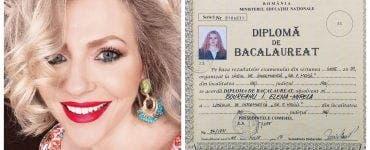 Mirela Vaida și-a postat diploma de BAC pe rețelele de socializare! Cu ce note se mândrește prezentatoarea TV