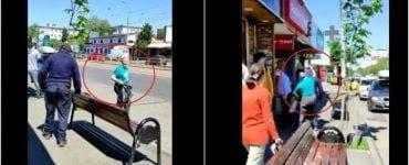 Atacatoarea Mirelei Vaida se află în libertate și atacă oameni pe stradă! Imagini șocante cu femeia!