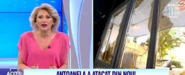 Mirela Vaida, atacată din nou de Antoanela! Polițiștii au alergat după agresoarea prezentatoarei TV ca să o prindă