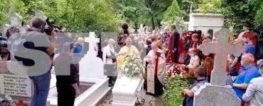 Fiica lui Ion Dichiseanu în lacrimi și durere la căpătâiul tatălui! Imagini de la înmormântarea actorului