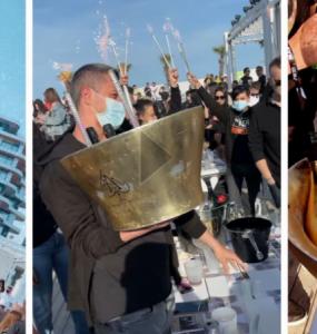Patronul Craiovei, aroganță maximă la Mamaia! Și-a comandat cea mai scumpă șampanie și a vrut-o pe muzica de Champions League