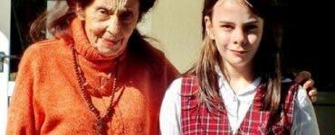 Adriana Iliescu si fiica ei, Eliza