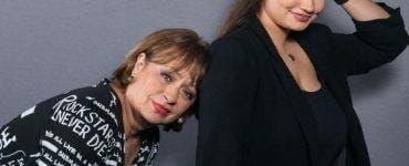 Adriana Trandafir si fiica ei, Maria Speranta