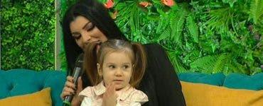 Andreea Tonciu si fiica ei, Rebeca