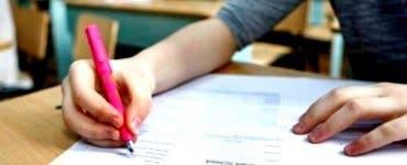 Declarația surprinzătoare a unei eleve care a avut media 10 la Evaluarea Națională