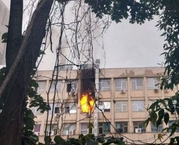 Incendiu spital Iasi