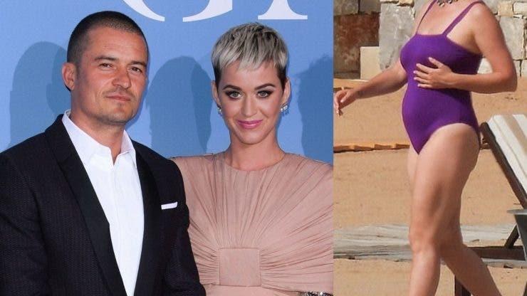 Katy Perry este însărcinată din nou