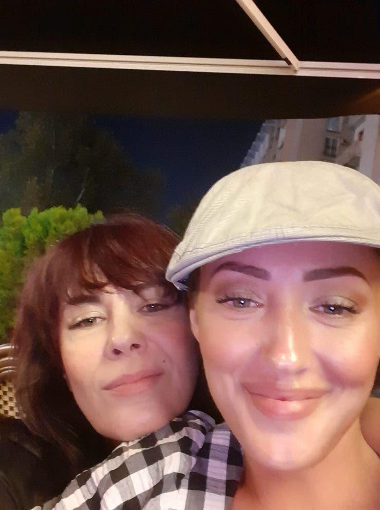 Mariana Moculescu și fiica ei, Nidia Moculescu