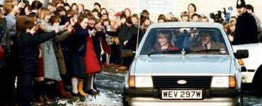Mașina oferită Dianei de către prințul Charles