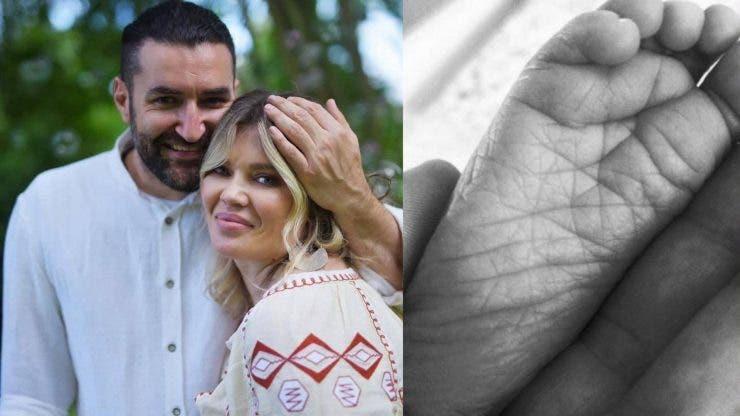 Primele imagini de la botezul fiicei lui Smiley și a Ginei Pistol