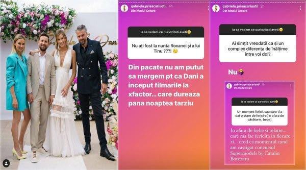 Motivul pentru care Gabriela Prisăcariu și Dani Oțil au lipsit de la cununia religioasă a propriilor nași! Ce a trebuit să facă matinalul de la Antena 1
