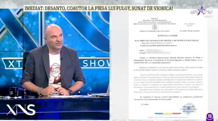 """Dan Capatos i-a transmis un mesaj lui Ioniță de la Clejani! Iată dovada comunicatului oficial, după ce Fulgy a fost reclamat la Poliție: """"Asta nu pot să tolerez"""""""