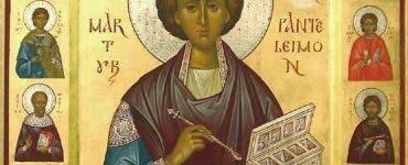 Calendar ortodox 28 iulie 2021. Astăzi este prăznuit Sfântul Mucenic Pantelimon