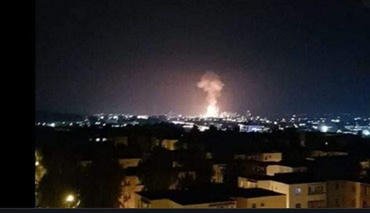 Explozie, urmată de un incendiu puternic la Combinatul chimic Azomureș