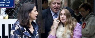 Fiica lui Boris Johnson este model XXL.