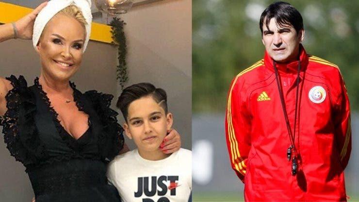 Fiul Vicăi Blochina și a lui Victor Pițurcă a împlinit 14 ani.