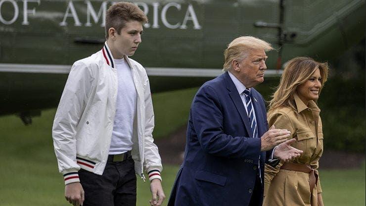 Fiul lui Donald Trump s-a transformat complet! La 16 ani are 2 metri înălțime și e un munte de om