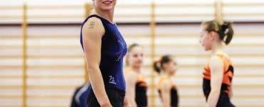 Fosta gimnastă Corina Ungureanu a devenit mămică! La vârsta de 41 de ani a adus pe lume un băiețel