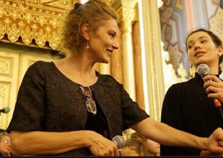 Cum se înțelege Maia Morgenstern cu fiica ei