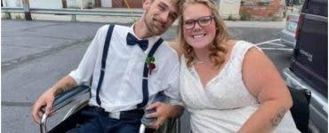Miracolele se întâmplă! O femeie paralizată a reușit să meargă la propria nuntă