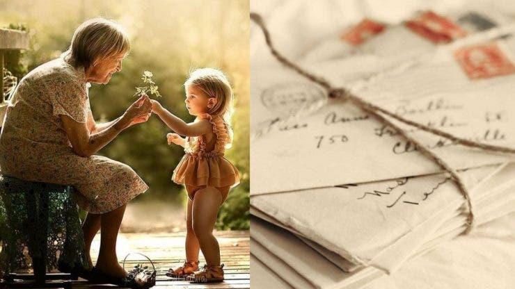 Scrisoarea emoționantă a unei bătrâne adresată nepoților ei