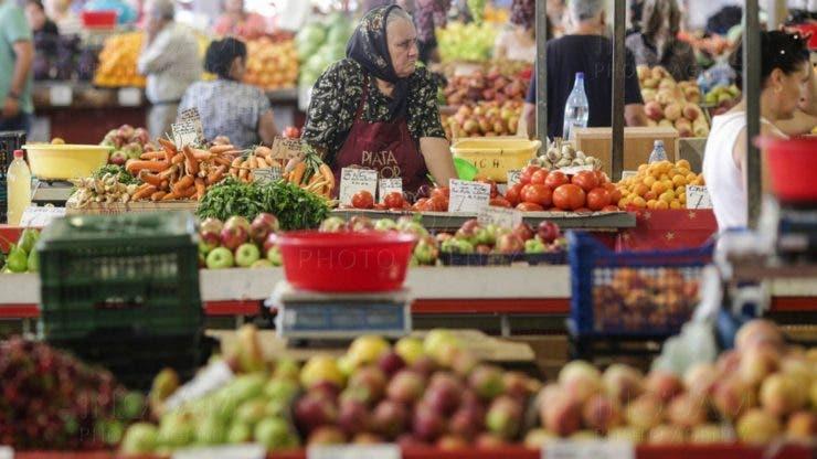 Situații inedite în piața Obor din Capitală.