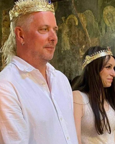 Vali Ionescu de la Voltaj s-a căsătorit! Primele imagini de la nuntă