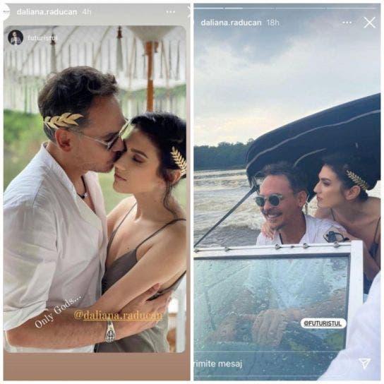 Răzvan Simion și Daliana Răducanu au făcut nunta în secret? Postarea care i-a pus pe gânduri pe fanii celor doi