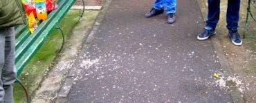 Băcăuan revoltat pe oamenii care aruncă deșeurile pe marginea străzii.