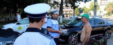 Dialog șocant între un polițist din Brăila și un cetățean. Bărbatul nu reușea să sufle în etilotest