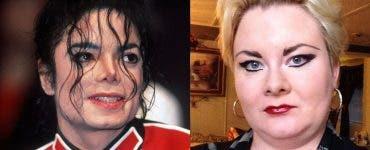 Femeia care se susține că s-a măritat cu fantoma lui Michael Jackson