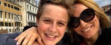 Fiul Andreei Esca a plecat la facultate. Ce va studia Aris Melkior