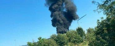 Incendiu de proporții în Mogoșoaia! Au intervenit deja 15 autospeciale
