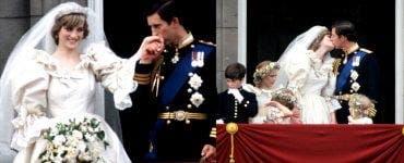 O felie din tortul de nuntă a Prințesei Diana cu Charles va fi scoasă la licitație