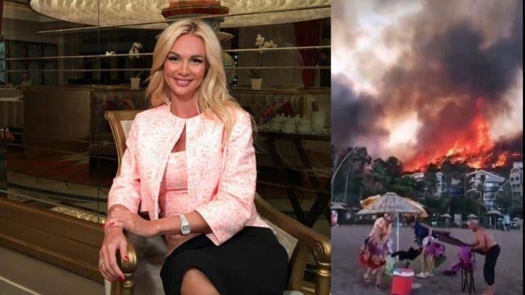 O prezentatoare tv din Rusia i-a înfuriat pe internauți.