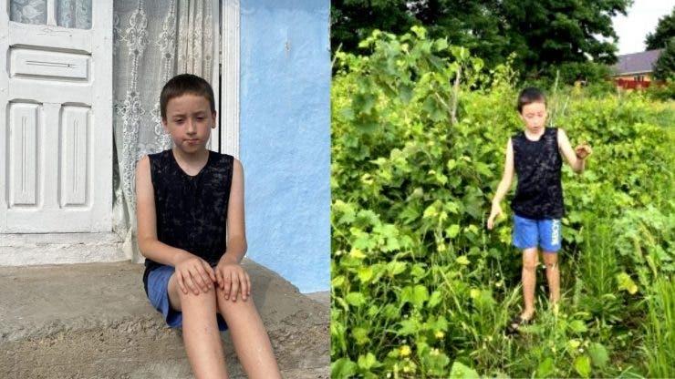 Povestea impresionantă a lui Cristian, un copil extrem de special.