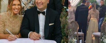 Cât ar fi mers darul la nunta Simonei Halep