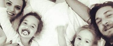 Fetița lui Florin Dumitrescu a ajuns de urgență la spital. Ce a pățit micuța Ava