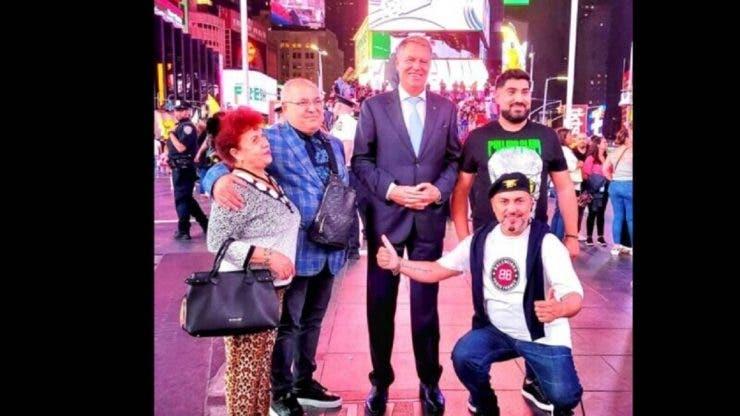 Ipostaza rară în care apare Klaus Iohannis! Președintele României s-a fotografiat cu Sorinel Puștiu în New York