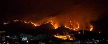 MAE a emis o atenționare de călătorie pentru turiștii care merg în Spania! Este un incendiu de vegetație uriaș
