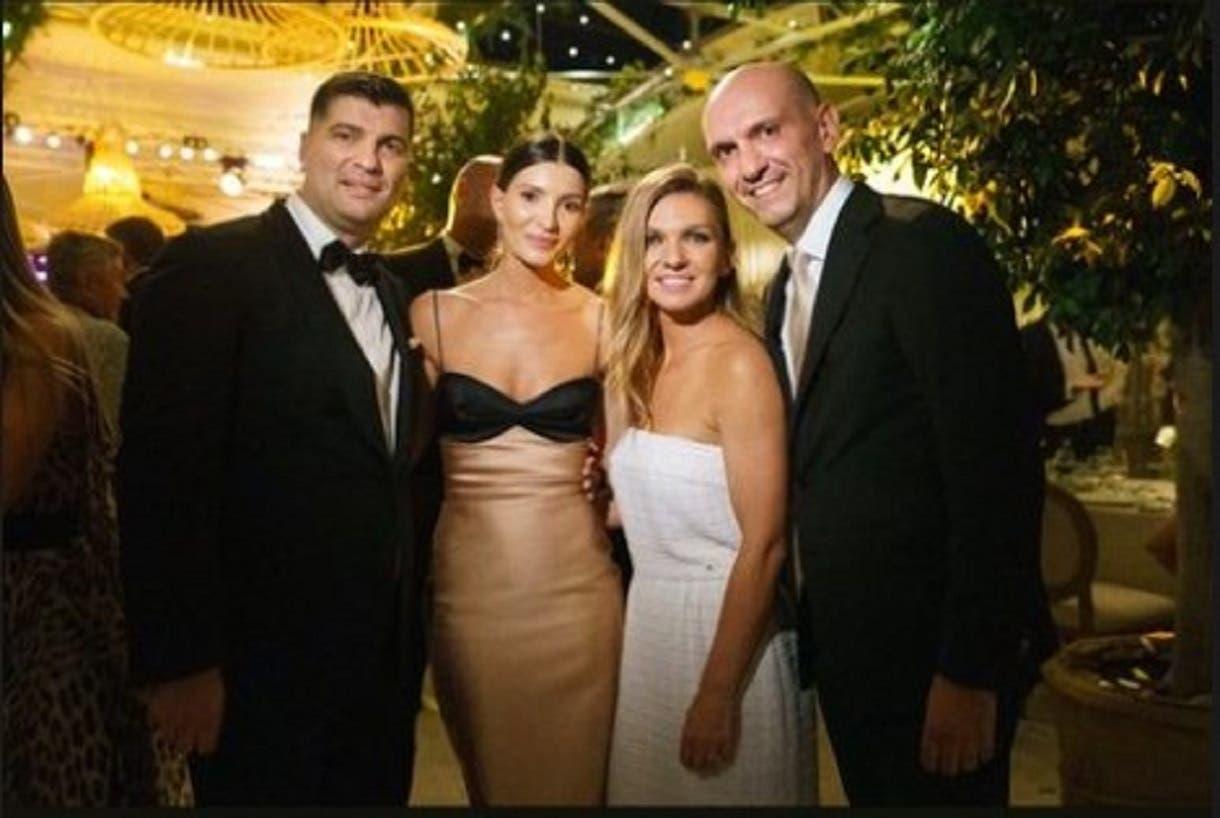 Nașa Simonei Halep a atras toate privirile la nuntă! Aceasta a purtat o rochie bodycon