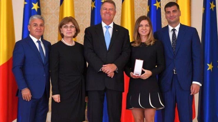 Președintele României, invitat la nunta Simonei Halep.