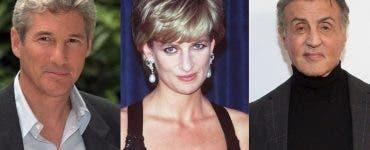 Richard Gere și Sylvester Stallone s-au certat pentru inima Prințesei Diana
