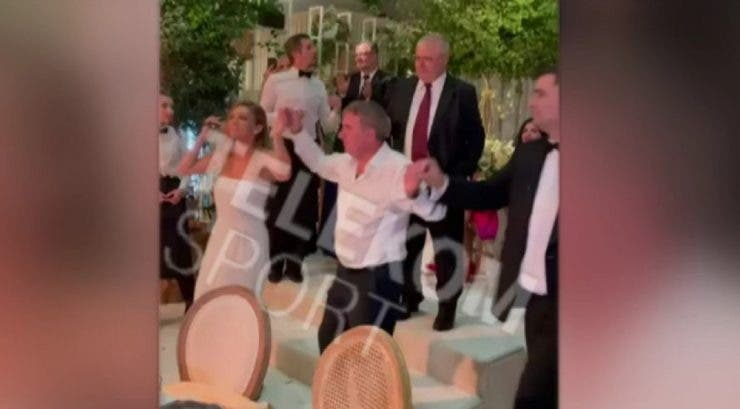 Simona Halep și Gică Hagi au încins atmosfera la nuntă! Cum au dansat cei doi