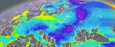 Val de aer polar în România! Aceste zone vor fi lovite de ploi și de frig