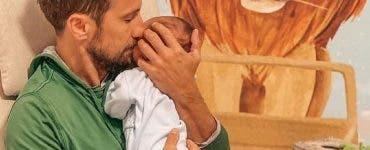 Ce i-a promis Dani Oțil fiului său! Prezentatorul se implică mult în rolul de tată