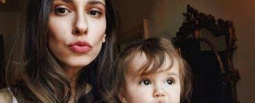 Dana Rogoz și-a dus fetița la creșă. Prin ce a trecut micuța în primele două săptămâni